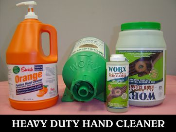 heavy duty hand cleaners