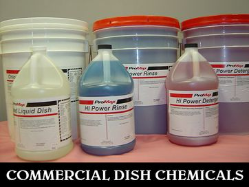 commercial dish chemicals